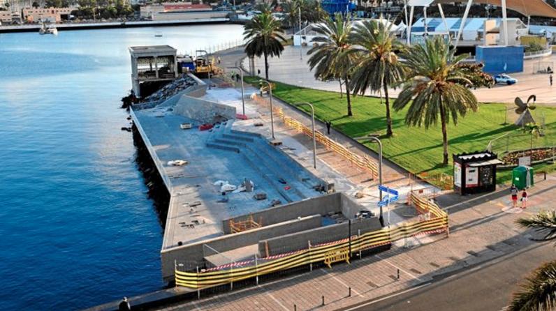 El proyecto del Parque Marítimo separa