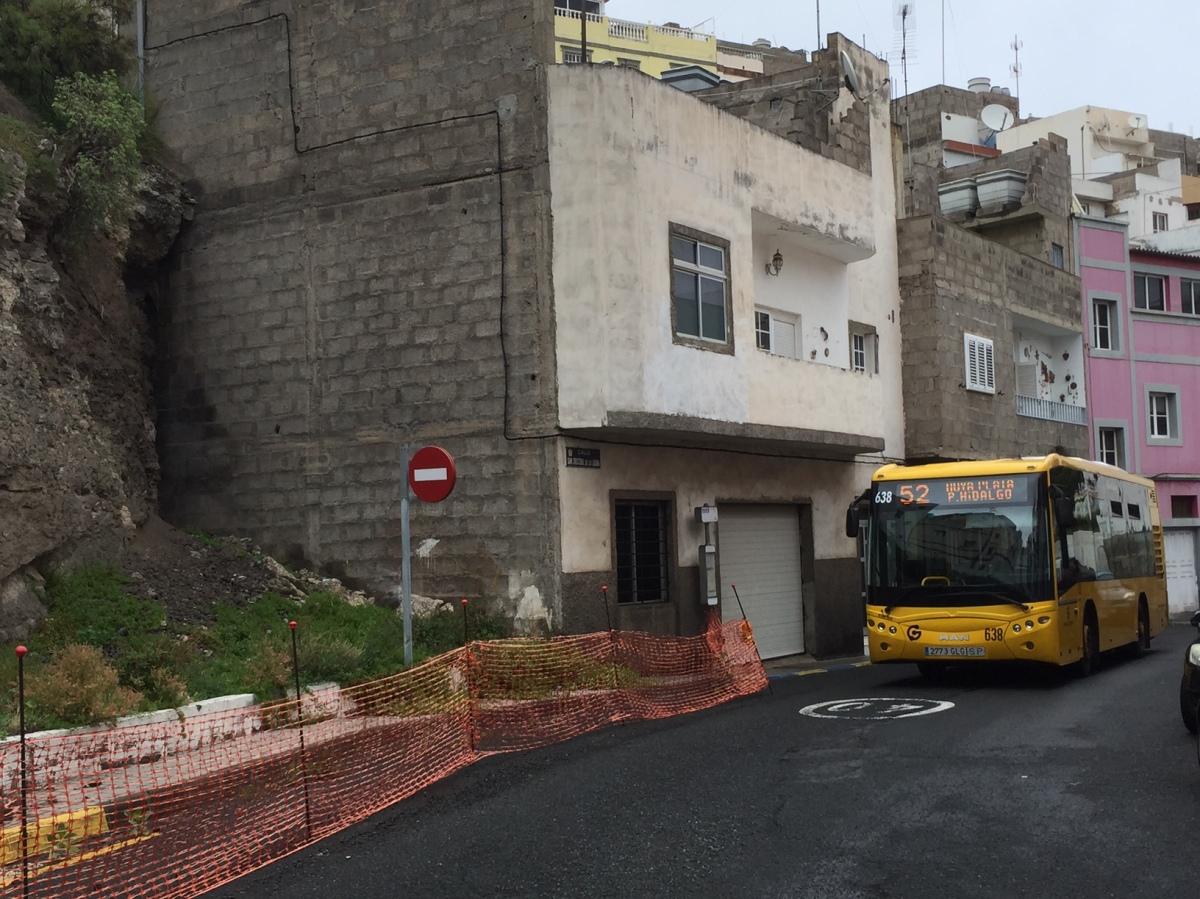 El Grupo Popular lamenta las excusas del Tripartito para evitar solventar los muros dañados seis meses después deltemporal