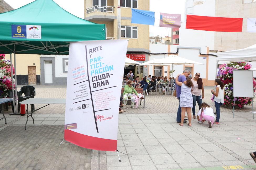 Los ciudadanos dan la espalda a los actos organizados por Ayuntamiento y Cabildo para 'monopolizar' con fines políticos la conmemoración del15M