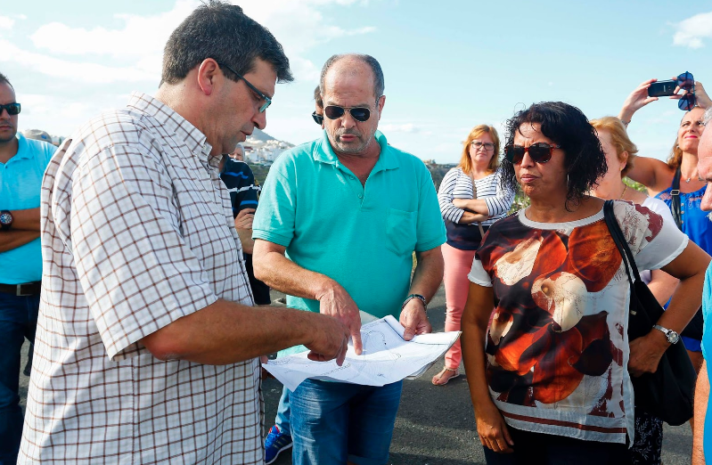 El PP lamenta que el enésimo incumplimiento del Tripartito eternice la apertura de la carretera de Lomo La Viuda en Tenoya para el tráficorodado