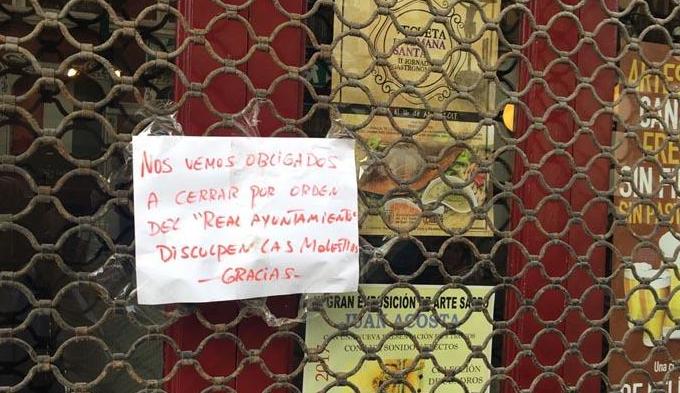 """El Grupo Popular denuncia el daño económico que la  """"descoordinación"""" del Tripartito ha provocado a los hosteleros de Vegueta durante la SemanaSanta"""
