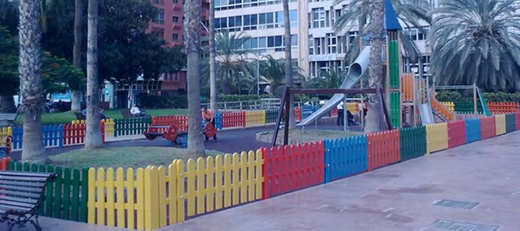 """El PP solicita al Tripartito la """"limpieza y desinfección exhaustiva"""" de los parques infantiles del distrito Isleta-Puerto-Canteras"""