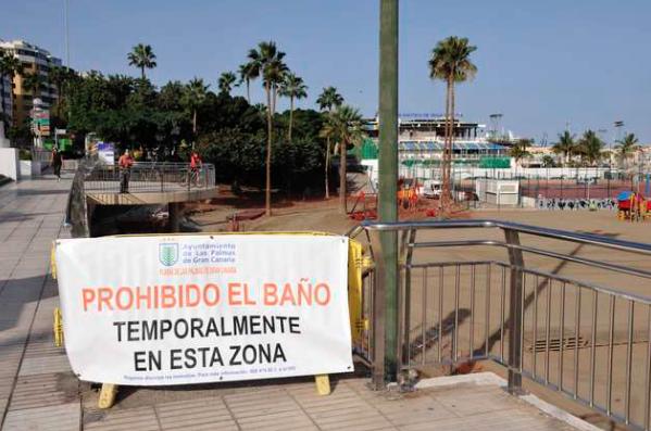 """El PP solicita al Gobierno de Canarias que """"extreme su celo"""" en Las Alcaravaneras ante la incapacidad del Tripartito para cuidar laplaya"""
